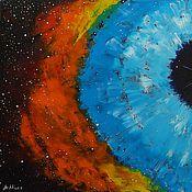 Картины и панно ручной работы. Ярмарка Мастеров - ручная работа Туманность Кольцо. Handmade.