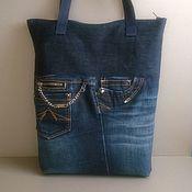 Сумки и аксессуары handmade. Livemaster - original item AMN shopper bag. Handmade.