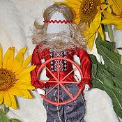 """Куклы и игрушки ручной работы. Ярмарка Мастеров - ручная работа Мотанка оберег """" Спиридон Солнцеворот"""". Handmade."""