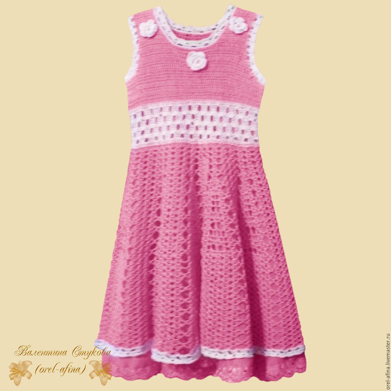 Детское Вязаное Платье Доставка