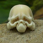 Куклы и игрушки handmade. Livemaster - original item Skull turtle netsuke. Handmade.