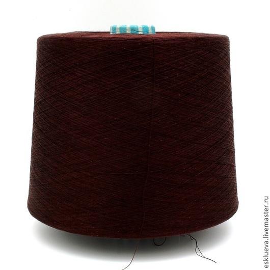 Вязание ручной работы. Ярмарка Мастеров - ручная работа. Купить 100% Шелк. Handmade. Бордовый, шелковая пряжа, итальянский шелк