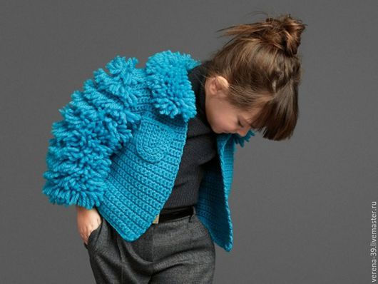 Одежда для девочек, ручной работы. Ярмарка Мастеров - ручная работа. Купить Детский Кардиган и Свитер от Dolce & Gabbana. Handmade.