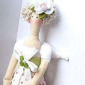 Куклы и игрушки ручной работы. Ярмарка Мастеров - ручная работа Тильда Цветочный ангел Роза. Handmade.