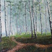 Березовый лес 50х70