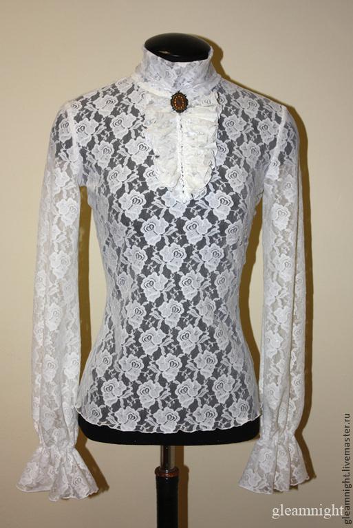 Блузка кружевная с доставкой