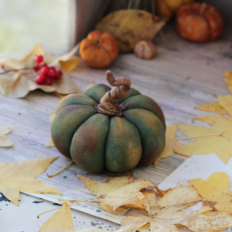 pumpkin decorative. Textile sculpture, Interior elements, Sochi,  Фото №1