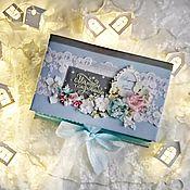Сувениры и подарки handmade. Livemaster - original item Mother`s treasures of shebby for a boy. Handmade.