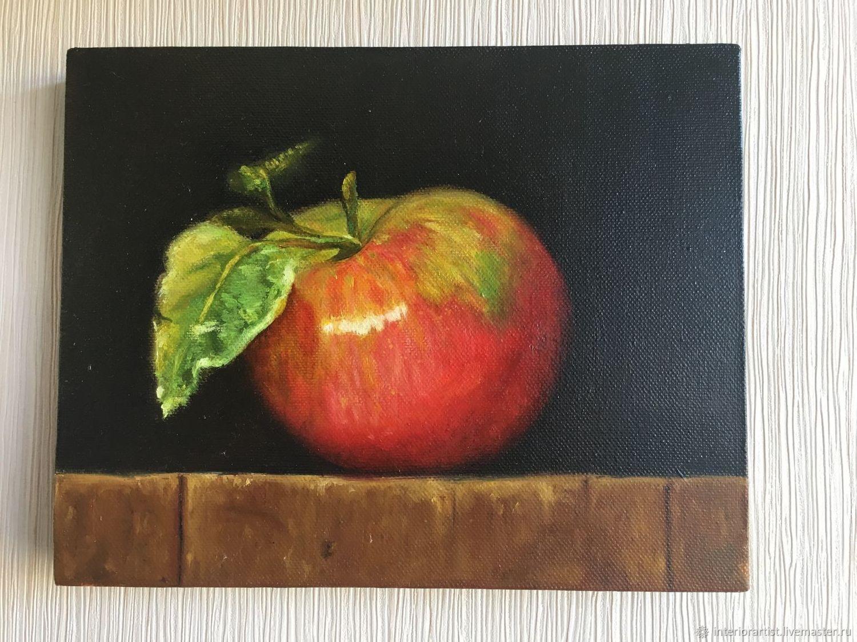 картина яблоко на руке холст фото уважаемые читатели моего