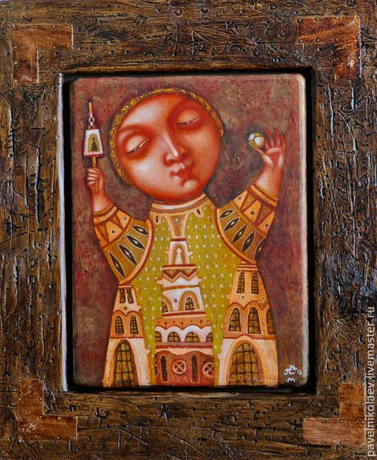 Оригинал работы, с которой выполнена печать(принт) на керамической плитке.