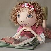 """Куклы и игрушки ручной работы. Ярмарка Мастеров - ручная работа Коллекционная кукла. """"Как хорошо уметь читать..."""". Handmade."""