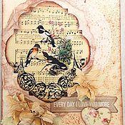 Открытки handmade. Livemaster - original item The handmade card scrapbooking. Handmade.