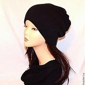 """Аксессуары ручной работы. Ярмарка Мастеров - ручная работа """"Urban Style"""" шапка-колпак (двойная, модель унисекс). Handmade."""