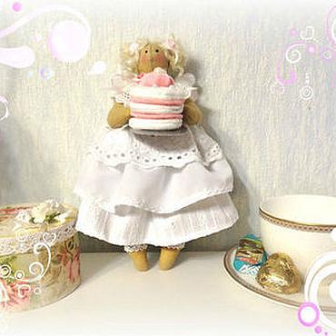 Куклы и игрушки ручной работы. Ярмарка Мастеров - ручная работа Домашняя Фея Зефирка. Handmade.