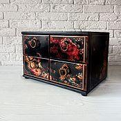 Для дома и интерьера handmade. Livemaster - original item Mini chest of drawers
