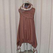 Одежда handmade. Livemaster - original item no. 036.1 linen sundress boho. Handmade.
