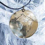 """Украшения handmade. Livemaster - original item A pendant """"Iceberg"""". Handmade."""
