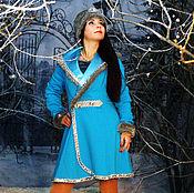 Одежда handmade. Livemaster - original item The costume of snow maiden. Costumes for animators.. Handmade.