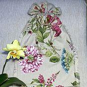 """Для дома и интерьера ручной работы. Ярмарка Мастеров - ручная работа мешок """" Растения-1"""". Handmade."""