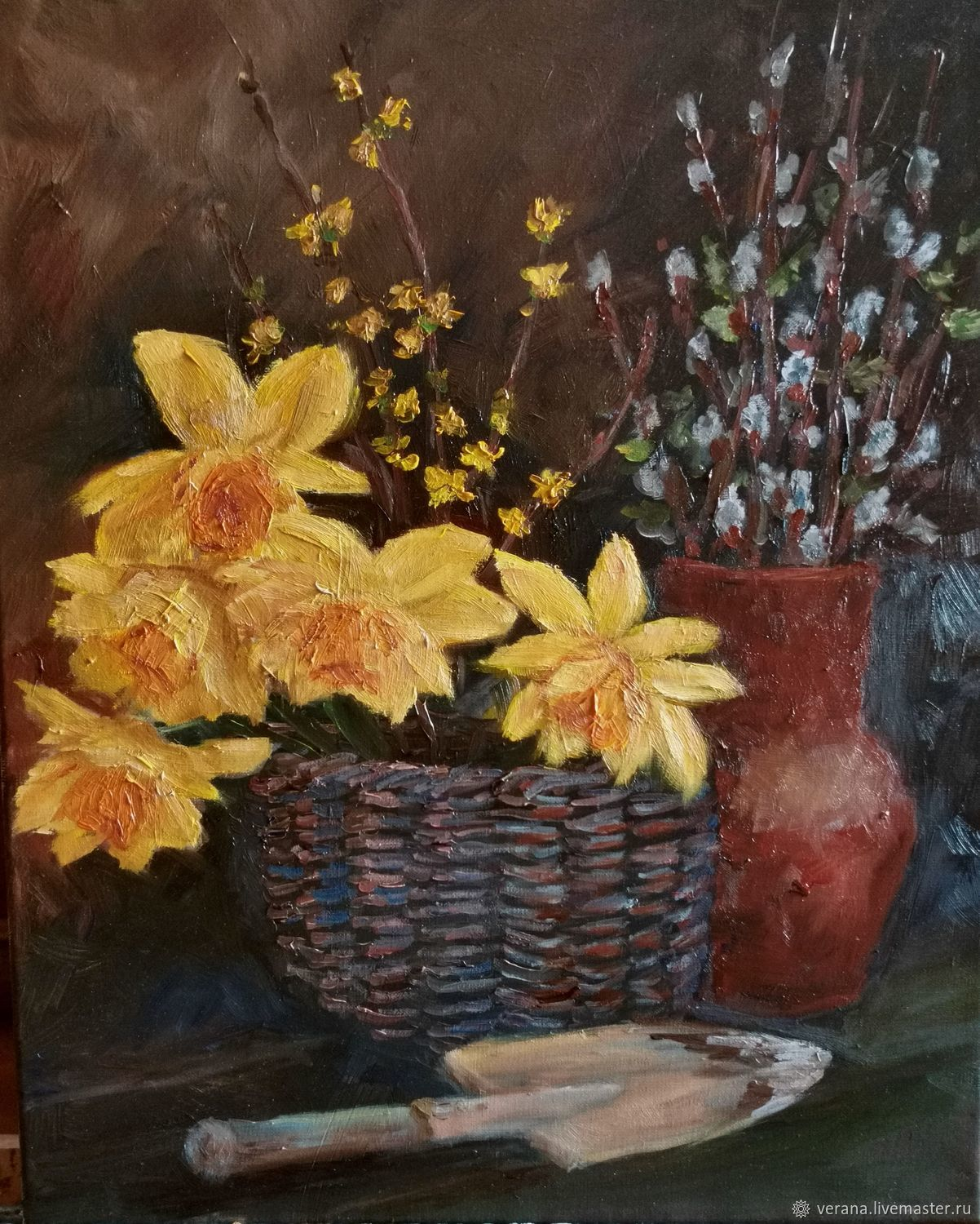 Oil painting. Spring still life, Pictures, Zhukovsky,  Фото №1