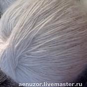 Материалы для творчества ручной работы. Ярмарка Мастеров - ручная работа пряжа из козьего пуха. Handmade.