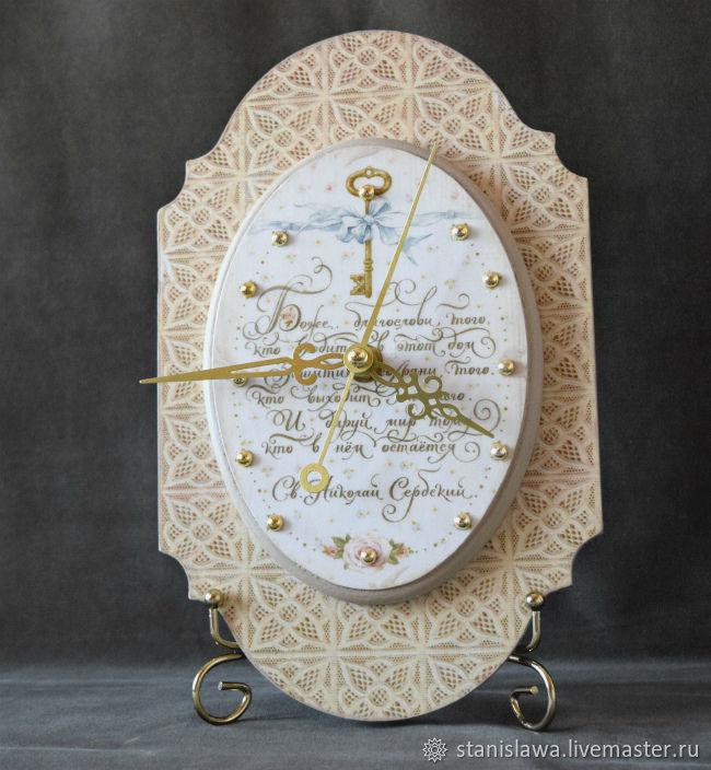 Настенные часы Благословение, Часы классические, Междуреченск,  Фото №1