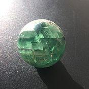 Шар ручной работы. Ярмарка Мастеров - ручная работа Шар из зеленого флюорита 44 мм. Handmade.