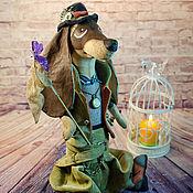 Куклы и игрушки ручной работы. Ярмарка Мастеров - ручная работа Коллекционная кукла Такс Охотник. Handmade.