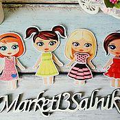 Куклы и игрушки handmade. Livemaster - original item Felt doll to choose from. Handmade.