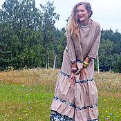 """Одежда ручной работы. Ярмарка Мастеров - ручная работа Платье """"Августа"""" 4. Handmade."""