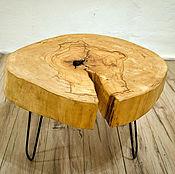 Столы ручной работы. Ярмарка Мастеров - ручная работа Стол Лофт из спила дерева. Handmade.