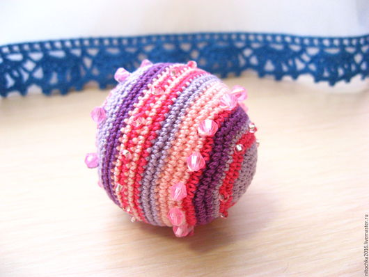 Развивающие игрушки ручной работы. Ярмарка Мастеров - ручная работа. Купить Мячик тактильный. Handmade. Комбинированный, тактильное развитие, позитив
