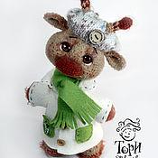 Куклы и игрушки ручной работы. Ярмарка Мастеров - ручная работа Жираф Марик. Handmade.