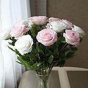 Цветы и флористика handmade. Livemaster - original item Bouquet of roses