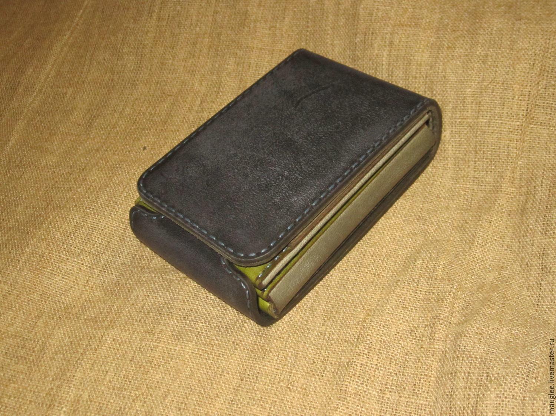Compact wallet. Indigo-herbs, Wallets, Nizhnij Tagil,  Фото №1