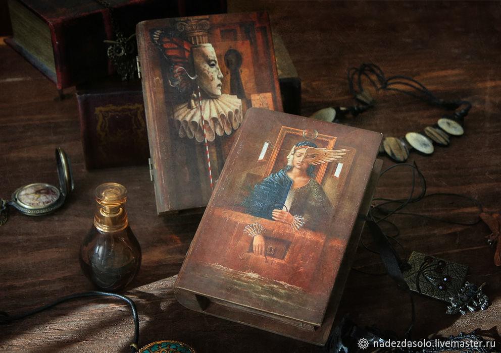 Шкатулка-книга Загадочный мир. Декупаж, Шкатулки, Химки, Фото №1