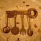 Винтажные предметы интерьера. Старинный кухонный набор!!!. 'Чердачок забытых вещей'. Интернет-магазин Ярмарка Мастеров. Кухонная утварь