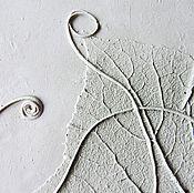 Для дома и интерьера ручной работы. Ярмарка Мастеров - ручная работа Огурчик - панно из гипса. Handmade.