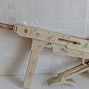 Оружие ручной работы. Ярмарка Мастеров - ручная работа Оружие: автомат из дерева. Handmade.