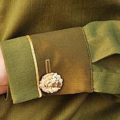 Одежда ручной работы. Ярмарка Мастеров - ручная работа Рубашка хлопковая. Handmade.