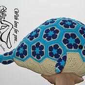 Мягкие игрушки ручной работы. Ярмарка Мастеров - ручная работа Вязаный кит. Handmade.
