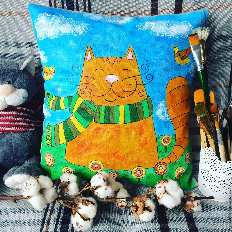 Ярмарка мастеров декоративные подушки
