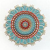 Для дома и интерьера handmade. Livemaster - original item Crocheted napkin