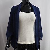 Одежда ручной работы. Ярмарка Мастеров - ручная работа Болеро-накидка-шарф  из кид-мохера и мериноса. Handmade.
