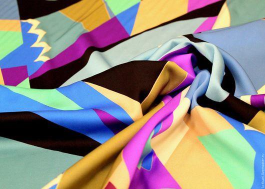 Шитье ручной работы. Ярмарка Мастеров - ручная работа. Купить Итальянский шелк  Emilio Pucci. Handmade. Белые тюльпаны
