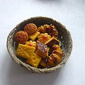 Куклы и игрушки ручной работы. Ярмарка Мастеров - ручная работа Кулинарная миниатюра. Печенье. Handmade.