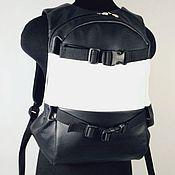 Сумки и аксессуары handmade. Livemaster - original item Sport Leather BackBack Skateboard. Handmade.