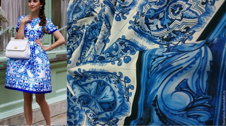 Платья из сатин-хлопка