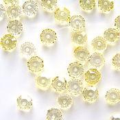 Материалы для творчества handmade. Livemaster - original item Citrine beads roundels cut. Handmade.