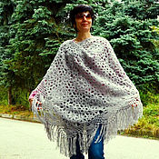 Аксессуары handmade. Livemaster - original item Openwork shawl